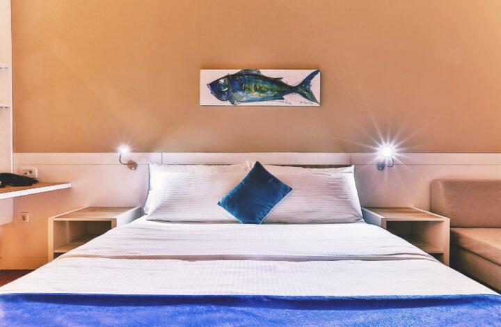 Hotel Delfin: Double Sea View