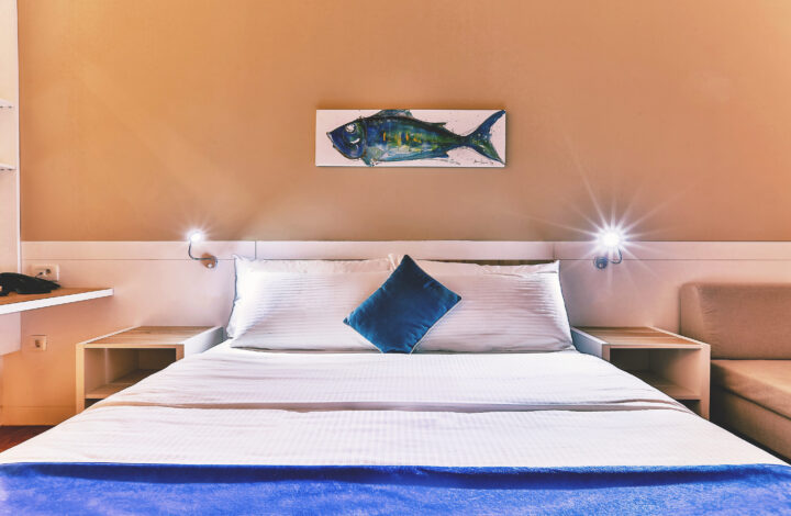 Hotel Delfin: Mountain View Double