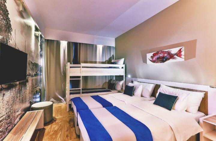Hotel Delfin: Sea-View Superior Family Room